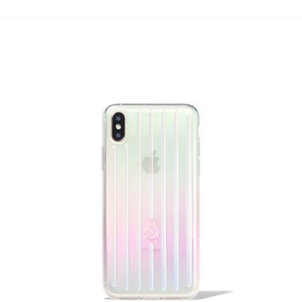 RIMOWA スマホケース・テックアクセサリー 大人気☆RIMOWA☆Iridescent Groove Case for iPhone XS ケース(2)