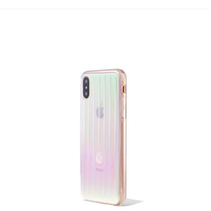 RIMOWA スマホケース・テックアクセサリー 大人気☆RIMOWA☆Iridescent Groove Case for iPhone XS ケース(4)