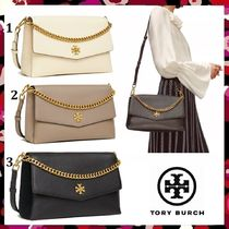 セール新作 Tory Burch Kira Mixed-Materials Shoulder Bag 3way