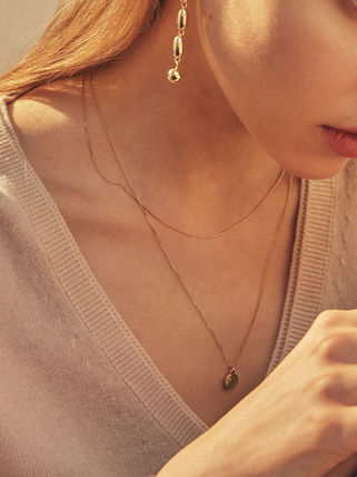 Hei ネックレス・ペンダント 【Hei】coin layered necklace〜コイン レイヤードネックレス(5)