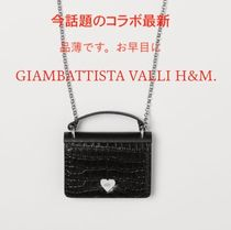 GIAMBATTISTA VALLI x H&M*Leather Mini Bag*手元にあり*