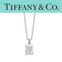 TIFFANY & Co. Makers Square Pendant in Sterling Silver 61cm