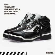 人気話題 TIMBERLAND MASTERMIND WORLD FIELD BOOT BLACK NUBACK