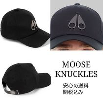 MOOSE KNUCKLES(ムースナックルズ) キャップ 注目ブランド【MOOSE KNUCKLES】LOGO ICON CAP
