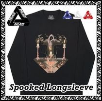 Palace Skateboards(パレススケートボーズ) Tシャツ・カットソー [パレス] Palace Spooked Longsleeve Black AW FW 19
