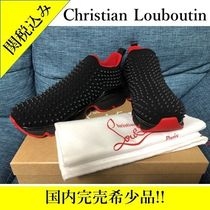 新品 正規品 関税込 Christian Louboutin Spike Sock Men's Flat