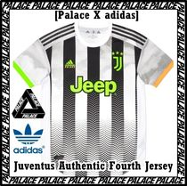 Palace Skateboards(パレススケートボーズ) Tシャツ・カットソー Palace X adidas Juventus Authentic Fourth Jersey White AW 19