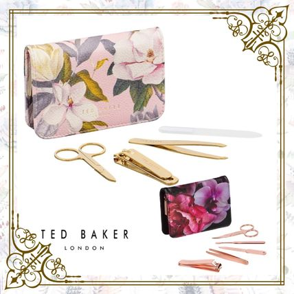 TED BAKER トラベル小物 Ted Baker*フローラルネイルキット*ハンドケア*ギフトプレゼント