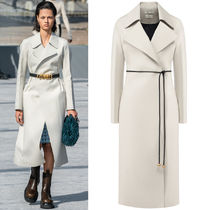 BV023 LOOK39 BELTED COTTON COAT