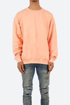 mnml Basic Crew Neck Sweat - Salmon オーバーサイズスウェット