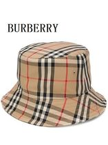 BURBERRY VINTAGEチェック バケットハット★送料・関税込み
