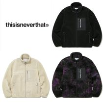 関税込み/無料配送◆thisisneverthat◆SP Boa Fleece Jacket◆