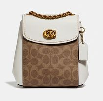 Coach ◆ 69650 Parker convertible backpack 16 in signature