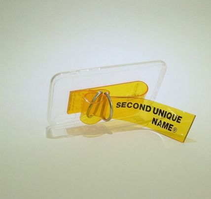 SECOND UNIQUE NAME スマホケース・テックアクセサリー SECOND UNIQUE NAME★SUN CASE PVC CLAER ★iPhoneケース(9)