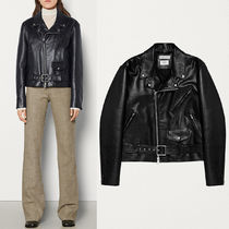 BV032 BIKER JACKET IN ROUGH CALF
