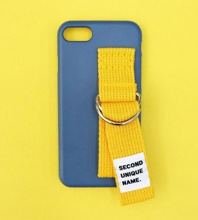 SECOND UNIQUE NAME スマホケース・テックアクセサリー SECOND UNIQUE NAME★SUN CASE RIVER BLUE YELLOW iPhoneケース(2)