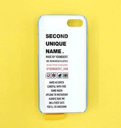 SECOND UNIQUE NAME スマホケース・テックアクセサリー SECOND UNIQUE NAME★SUN CASE RIVER BLUE YELLOW iPhoneケース(3)
