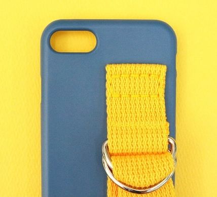 SECOND UNIQUE NAME スマホケース・テックアクセサリー SECOND UNIQUE NAME★SUN CASE RIVER BLUE YELLOW iPhoneケース(4)
