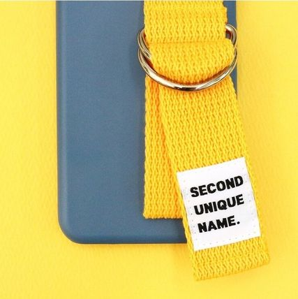 SECOND UNIQUE NAME スマホケース・テックアクセサリー SECOND UNIQUE NAME★SUN CASE RIVER BLUE YELLOW iPhoneケース(5)
