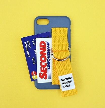 SECOND UNIQUE NAME スマホケース・テックアクセサリー SECOND UNIQUE NAME★SUN CASE RIVER BLUE YELLOW iPhoneケース(7)