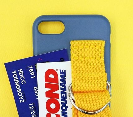 SECOND UNIQUE NAME スマホケース・テックアクセサリー SECOND UNIQUE NAME★SUN CASE RIVER BLUE YELLOW iPhoneケース(8)