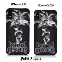 UK発!【PALM ANGELS】Statue Palm iPhone XR X/XS Case ロゴ入