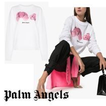 UK発!【PALM ANGELS】Kill The Bear ロンT 長袖 Tシャツ