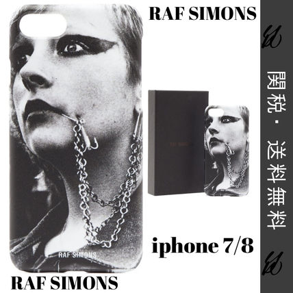 RAF SIMONS Clubbersプリント iPhone 7&8 ケース