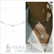 AU発日本未入荷■TEMPLE OF THE SUN■ノットネックレスSILVER