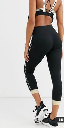 Nike ボトムスその他 NEW!関送料込★Nike★leggings with gold sparkle trim(4)