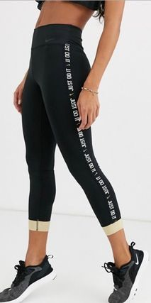 Nike ボトムスその他 NEW!関送料込★Nike★leggings with gold sparkle trim(5)