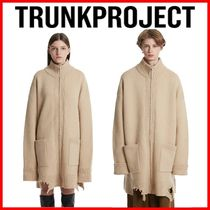 TRUNK PROJECT☆男女OK!Grunge Detail Zip-Up Cardigan Jacket
