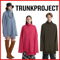 TRUNK PROJECT☆男女OK!Cable Fringe Knit Sweater 正規品