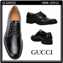 【GUCCI】DERBY LACE UP レザー シューズ 関税・送料込