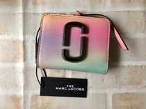 Marc Jacobs☆Snapshot Airbushed Mini Wallet☆グラデ2つ折財布