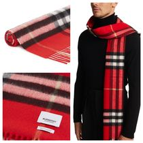 BURBERRY Giant Icon cashmere scarf カシミア マフラー