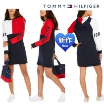 Tommy Hilfiger☆ハーフジッパーフードワンピース関税☆送料込