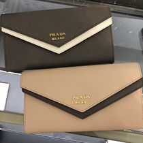 PRADA Large Saffiano leather wallet 1MH030