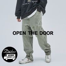 OPENTHEDOOR pigment banding pants(3 color) OH105 追跡付