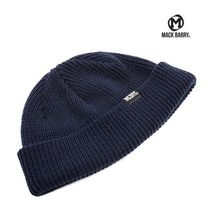 【国内発送・送料無料】MACK BARRY DAILY SHORT BEANIE - navy
