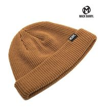 【国内発送・送料無料】MACK BARRY DAILY SHORT BEANIE -mustard