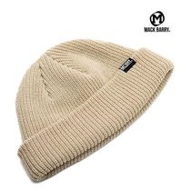 【国内発送・送料無料】MACK BARRY DAILY SHORT BEANIE - beige