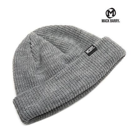 【国内発送・送料無料】MACK BARRY DAILY SHORT BEANIE - grey