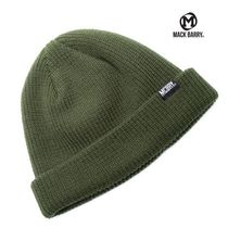 【国内発送・送料無料】MACK BARRY DAILY SHORT BEANIE - khaki