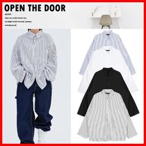 ☆韓国の人気☆【OPEN THE DOOR】☆Daddy shirts☆4色☆