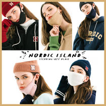 ◆NORDIC ISLAND◆ FLEECE MASK (全5色) 冬用マスク