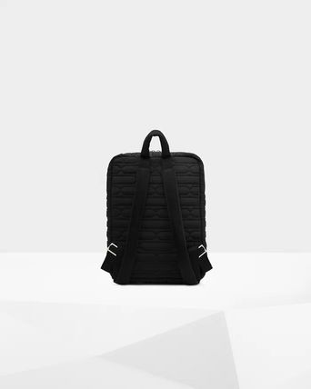 HUNTER バックパック・リュック 【HUNTER】Refined Quilted Backpack/ブラック/キルティング(3)