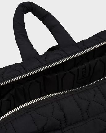 HUNTER バックパック・リュック 【HUNTER】Refined Quilted Backpack/ブラック/キルティング(6)