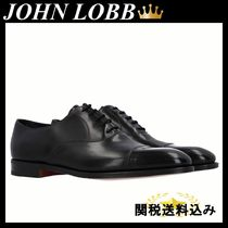 JOHN LOBB CITY II OXFORD SHOES IN MUSEUM LEATHER