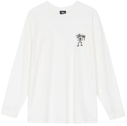 STUSSY Tシャツ・カットソー *国内完売アイテム*Stussy Warrior Man Pig. Dyed LS Tee FA19(2)